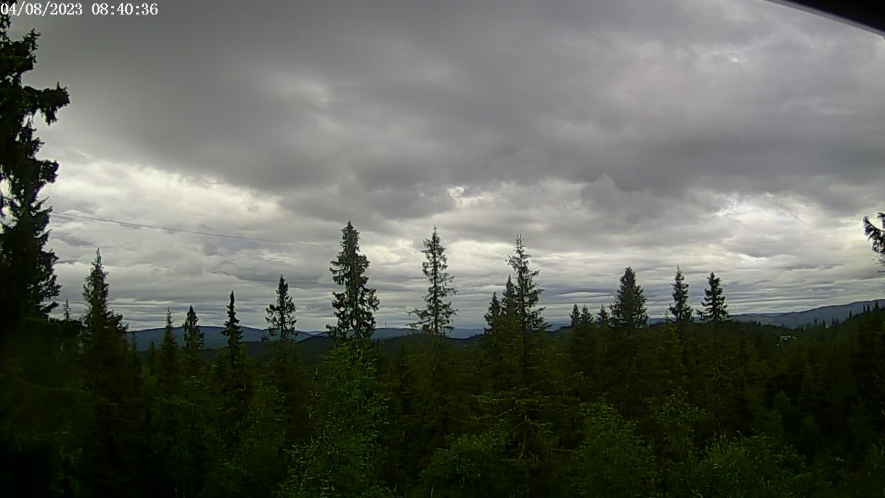 Webcam Nordfjellstølen, Etnedal, Oppland, Norwegen